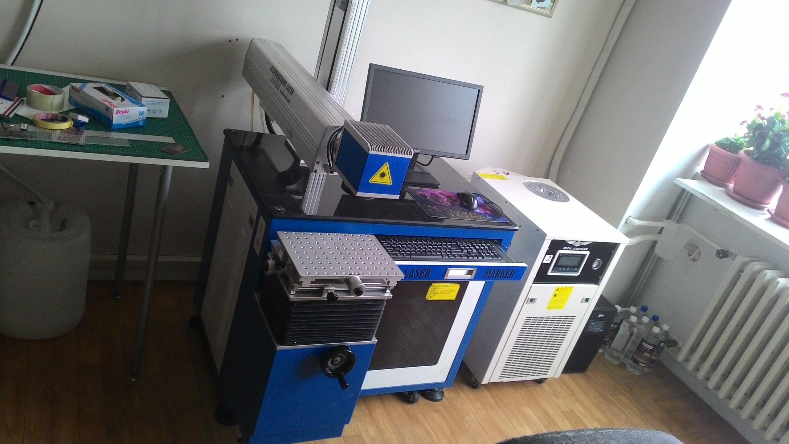 50W Lazer Markalama Makinası - Türkiye Geneli