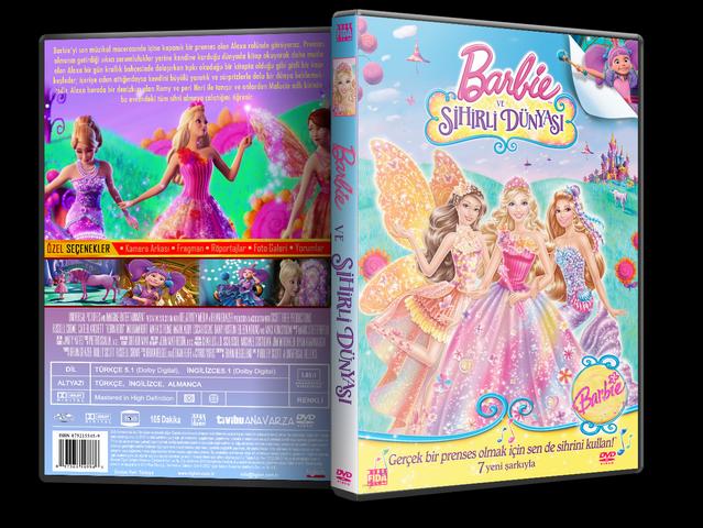Barbie ve Sihirli Dünyası - Barbie and the Secret Door 2014 ( DVD-5 ) Dual TR-ENG Tek Link İndir