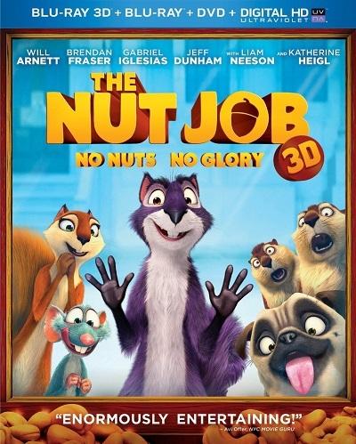 Fındık İşi  - The Nut Job  2014 3D HSBS  M1080p Bluray x264 Türkçe Dublaj  Kota Dostu