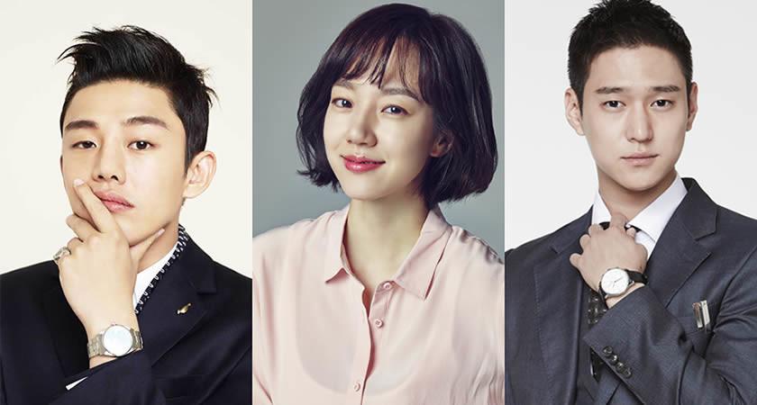 """Yo Ah-In, Lim Soo-Jung, Go Kyung-Pyo """"Chicago Typewriter"""" Dizisinde"""