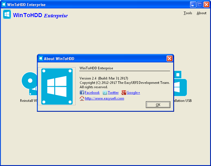 WinToHDD Enterprise 4.5 | Katılımsız
