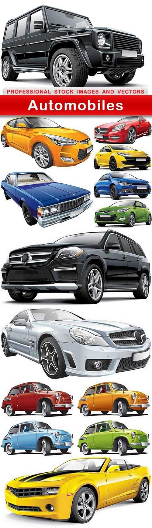 Automobiles Vector