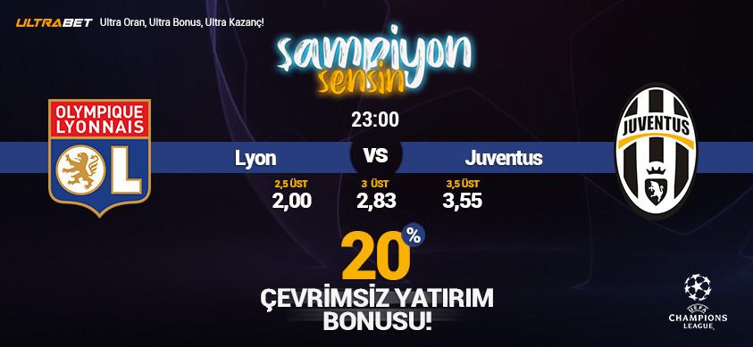Lyon - Juventus Canlı Maç İzle