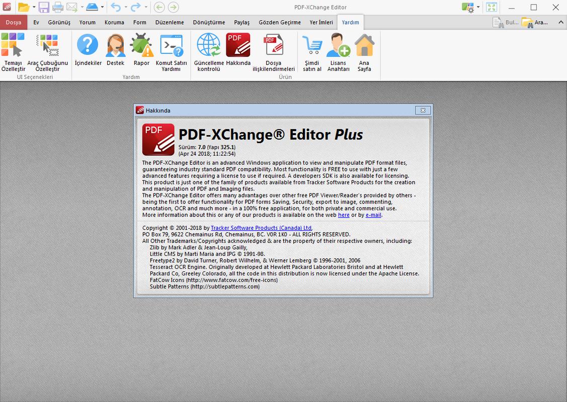 PDF-XChange Editor Plus 7.0.325.1 | Katılımsız