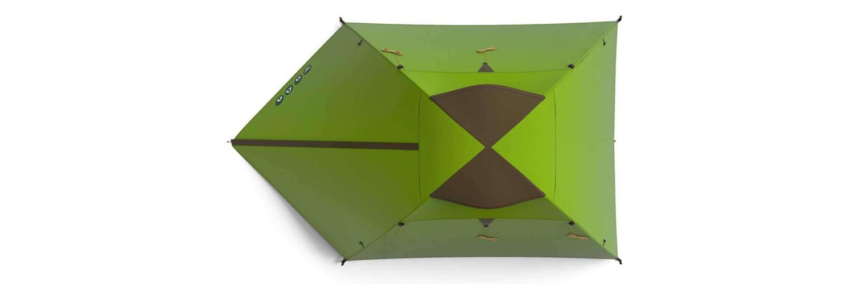 kişi başına düşen alan miktarına göre çadır seçimi