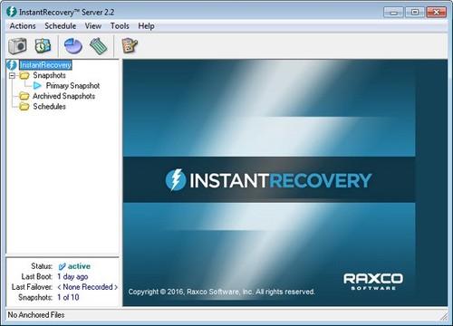 Raxco InstantRecovery Server 2.4.0.321 Full İndir