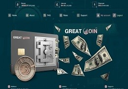 Greatcoin.ltd screenshot