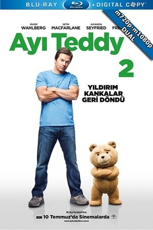 Ayı Teddy 2 – Ted 2 2015 m720p-m1080p Mkv DuaL TR-EN – Tek Link