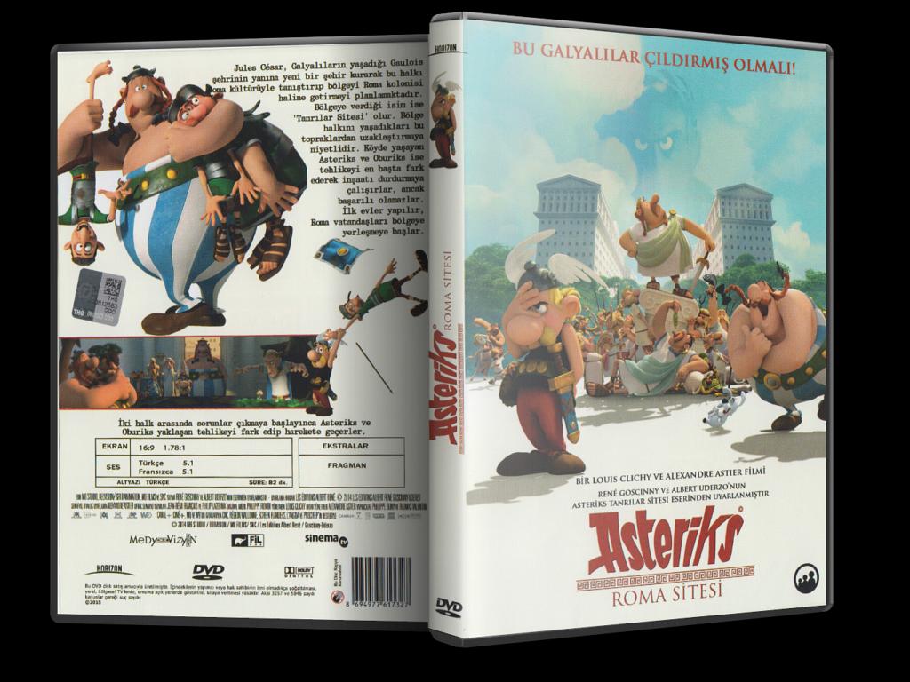 Asteriks: Roma Sitesi 2014 DVD-5 DuaL TR-FR – Tek Link