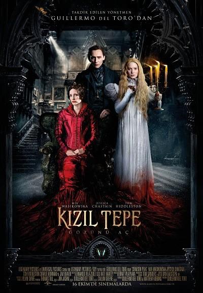 Kızıl Tepe - Crimson Peak 2015 ( BRRip XviD ) Türkçe Dublaj - Tek Link