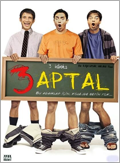 3 Aptal – 3 Idiots 2009 BRRip XviD Türkçe Dublaj – Tek Link