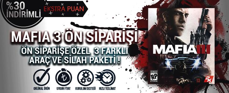 Mafia 3 Global Cd Key Ön Sipariş Hediyeleriyle BursaGB'de !