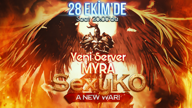 Sexy-KO.Com ► v21xx 1 Yılına Özel Yeni Sunucu Açılıyor ► Myra 28.10.2016 Cuma günü Saat 20:00'de