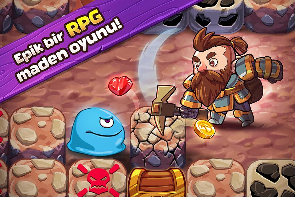 Mine Quest 2 - Mining RPG Apk