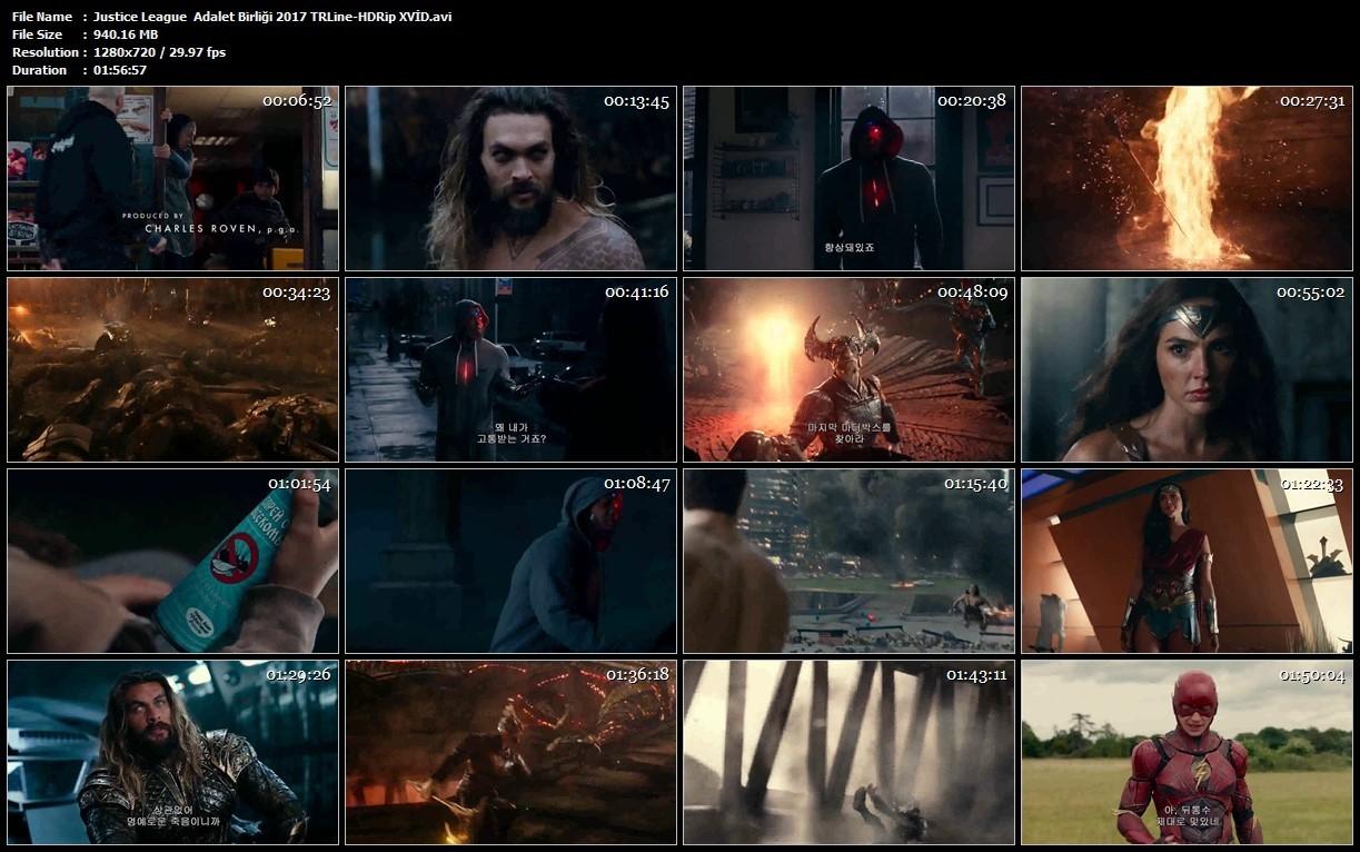 Justice League: Adalet Birliği 2017 Filmi