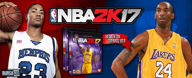 NBA 2K17 Ön Siparise Açildi