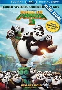 Kung Fu Panda 3 2016 m3D Mkv 3D H-SBS  DUAL TR-EN – Tek Link