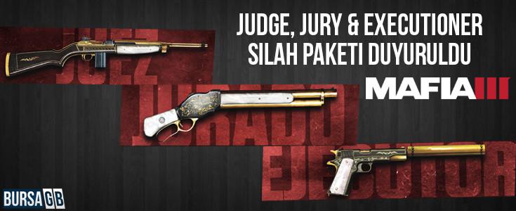 Mafia III Judge, Jury & Executioner Silah Paketi Duyuruldu