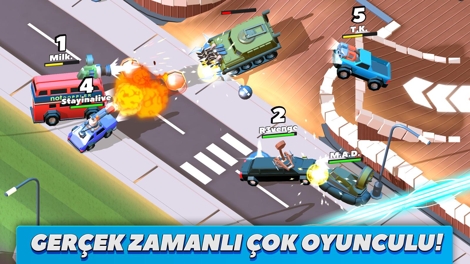 Crash of Cars Apk Mod