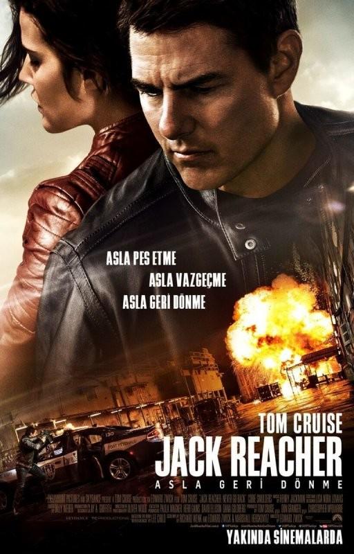 Jack Reacher: Asla Geri Dönme | 2016 | BRRip XviD | Türkçe Dublaj