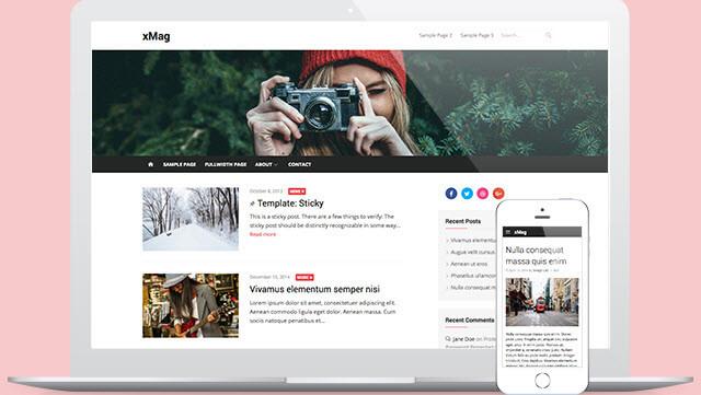 Xmag - Kişisel Blog Teması
