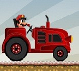 Mario Traktörde Oyunu
