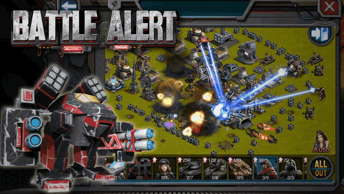 Battle Alert: War of Tanks Android
