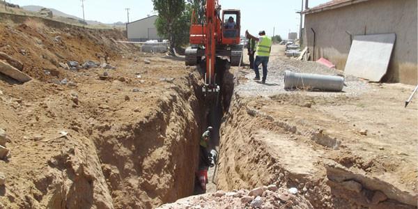 Sanayide elektrik hatları yeraltına alınıyor