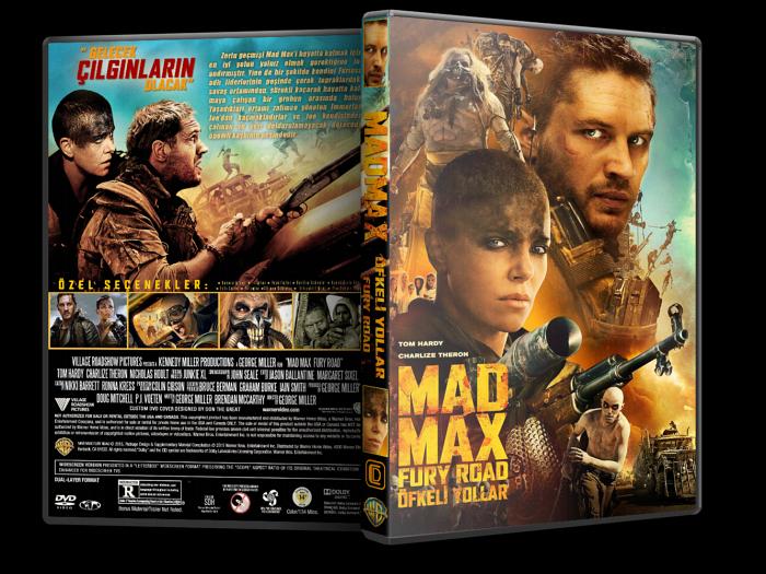 Çılgın Max: Öfkeli Yollar – Mad Max: Fury Road 2015 DVD-9 DuaL TR-EN – Tek Link