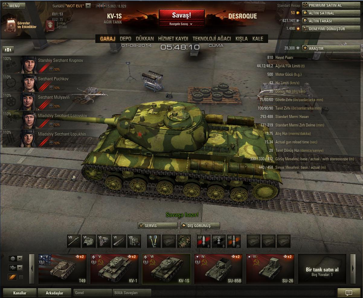 KV-1S Skin