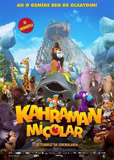 Kahraman Miçolar - Ooops! Noah is Gone... 2015 BRRip XviD Türkçe Dublaj - Tek Link