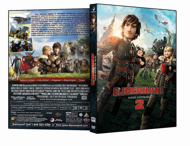 Ejderhanı Nasıl Eğitirsin 2 - How to Train Your Dragon 2 2014 ( DVD-5 ) Dual TR-ENG Tek Link İndir