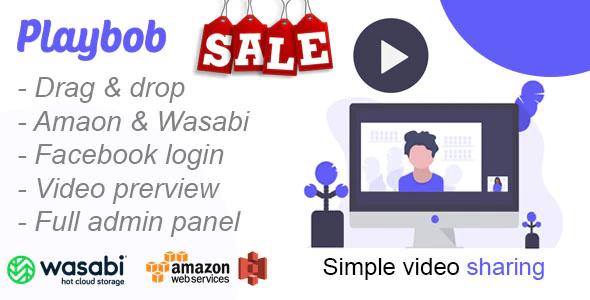 [PHP Script] Playbob - Simple Video Sharing Script