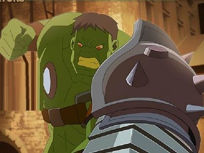 Demir Yumruk Hulk Oyunu