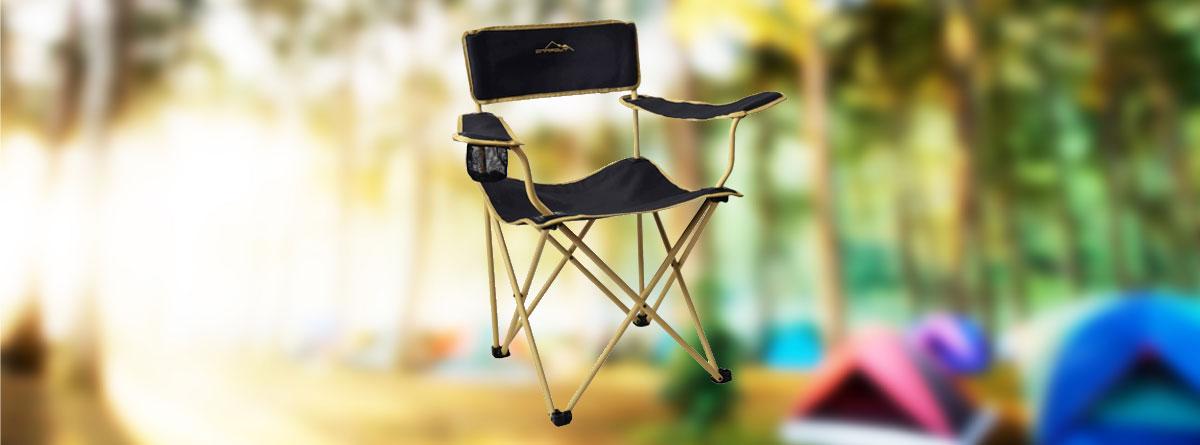 campout mogan sandalye
