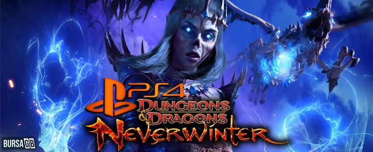 Neverwinter PlayStation 4 Keyfine Hazirlanin