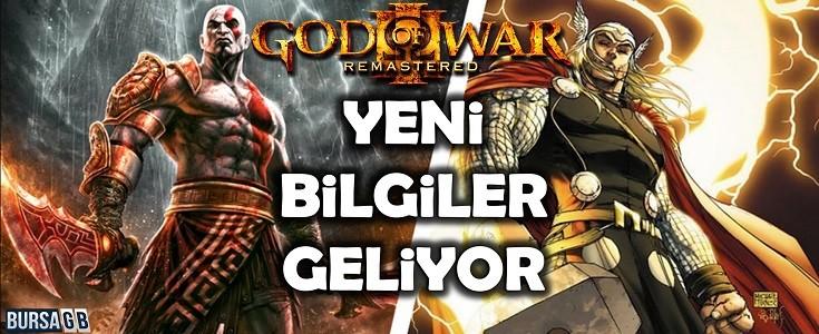 Yeni God of War 'dan Yeni Bilgiler Geliyor