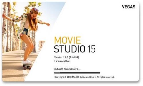 MAGIX VEGAS Movie Studio 15.0.0.99