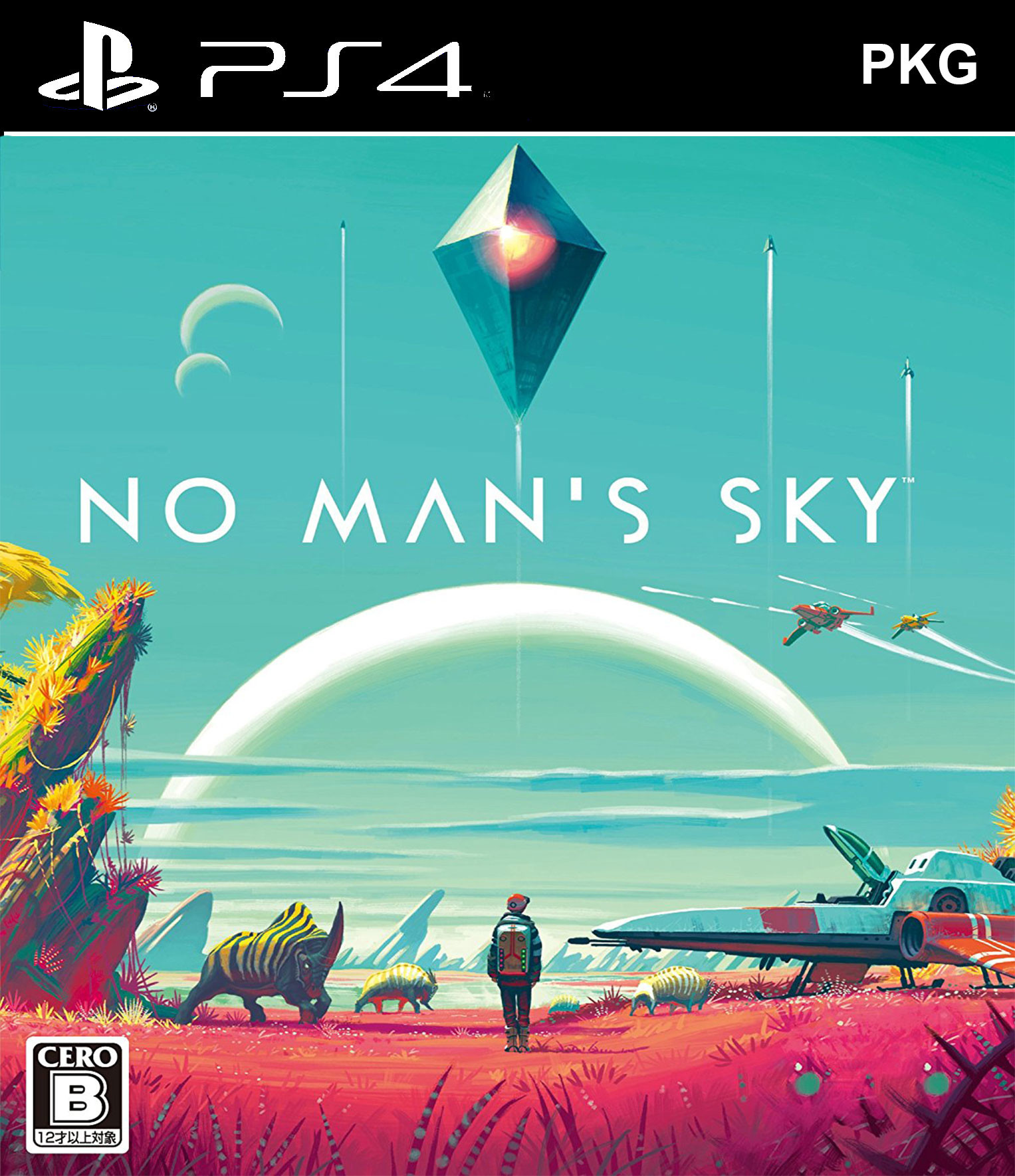 No Man's Sky PKG Oyun İndir ! [4.05