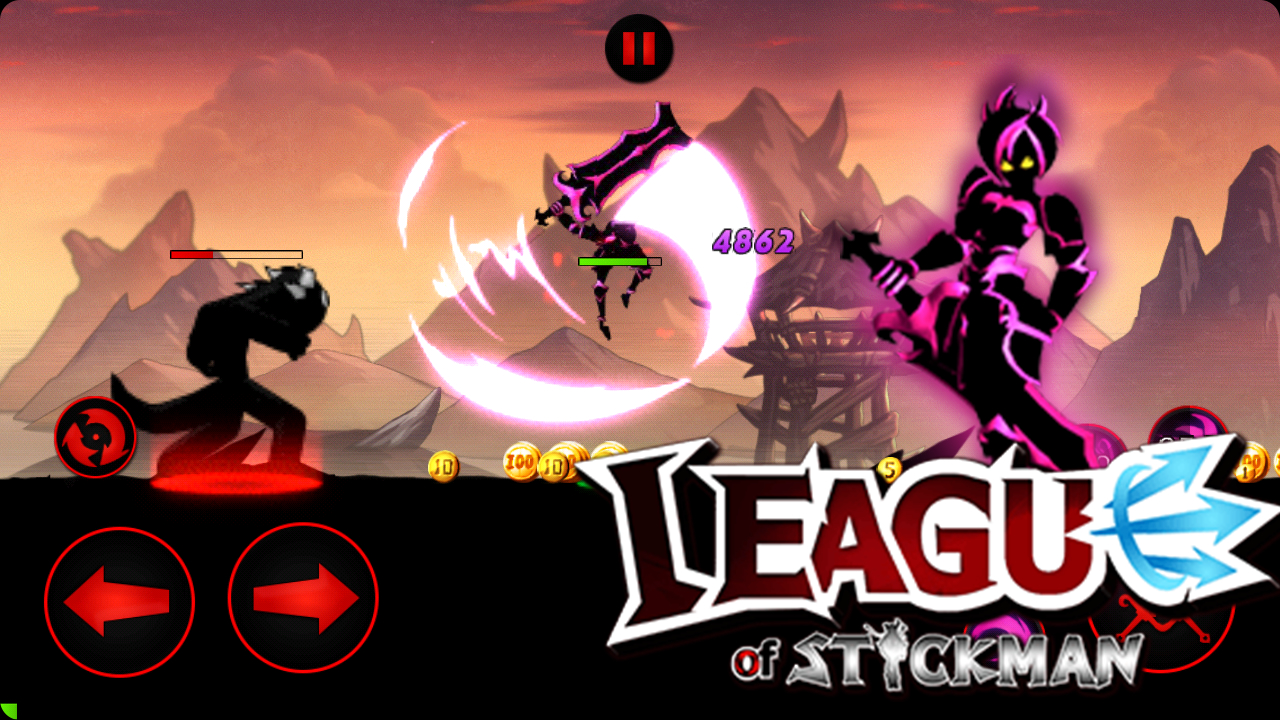 League of Stickman: Warriors Apk