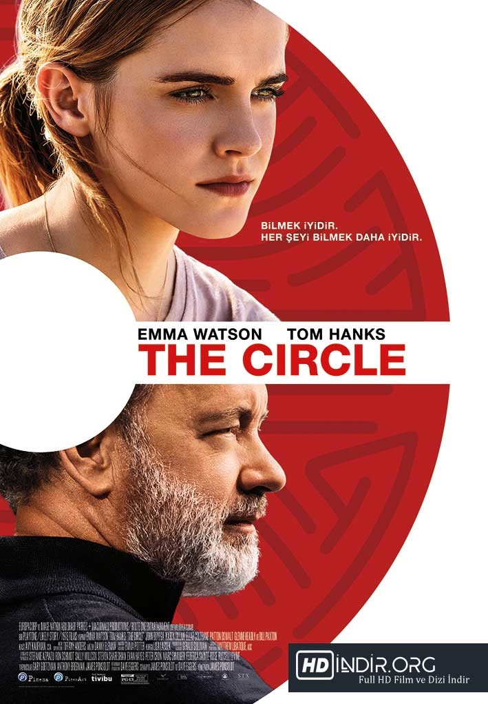 The Circle (2017) DUAL TR-EN m720p BluRay HD İndir