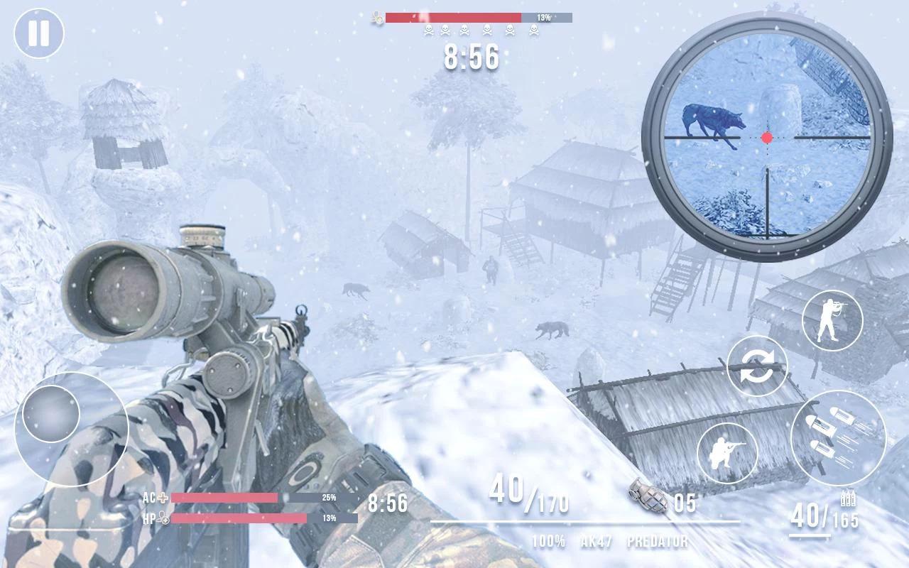 Last Day of Winter - FPS Frontline Shooter Apk