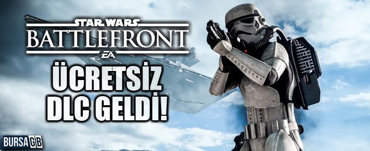 Star Wars Battlefront Oyuncularina Ücretsiz DLC