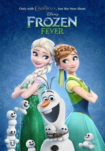 Karlar Ülkesi Kutlama - Frozen Fever 2015 ( BRRip XviD ) Türkçe Dublaj - Tek Link