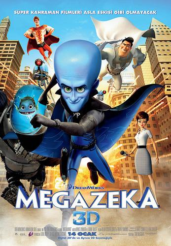 Megazeka - Megamind (2010) - 3d türkçe dublaj indir