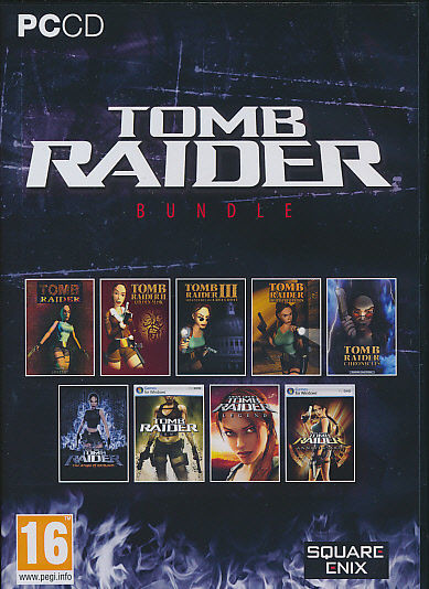 Tomb Raider Collection PC 9 Oyun Download Yükle İndir