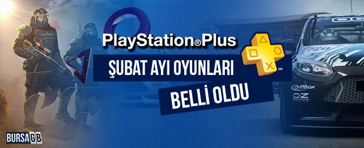 PlayStation Plus Şubat Ayı Oyunları Belli Oldu