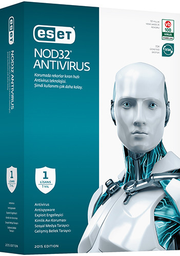 ESET NOD32 Antivirus 9.0.377.1 | Katýlýmsýz