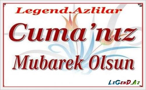 Cümə günümüz mübarək