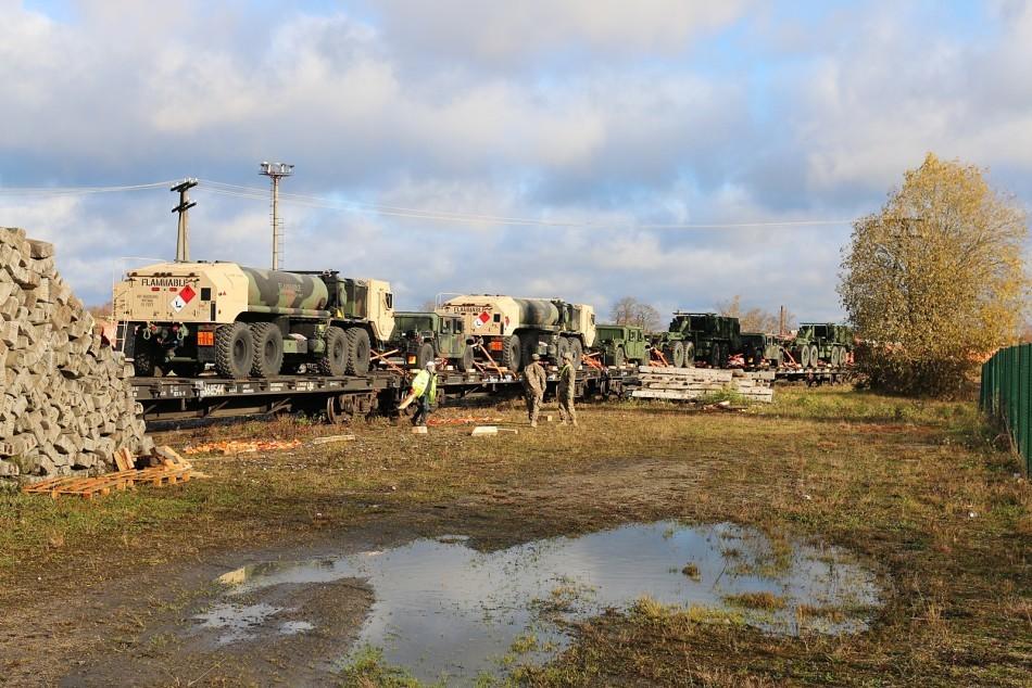 American Tanks In Estonia 10
